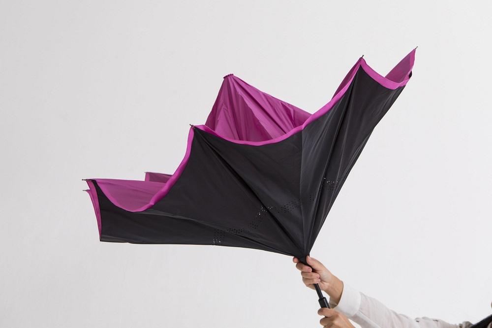 塗れた面が内側になるSa傘