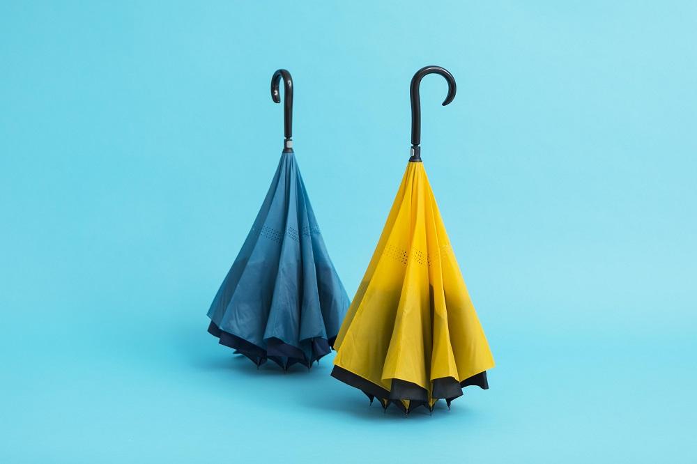 インパクトのある形状が話題にSa傘