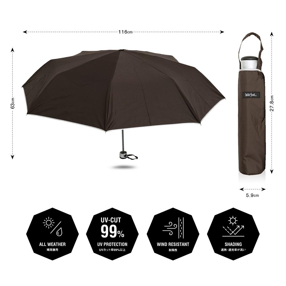 プレミアムストロングアーミー&ネイビー傘